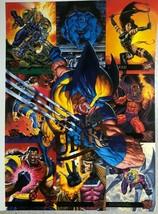 FLEER ULTRA X-MEN promotional sheet for the trading cards (1995) Marvel/Fleer - $9.89