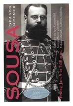 Modern Advertising Postcard US Marine Band 2009 Concert John Philip Sous... - $7.99
