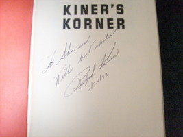 RALPH  KINER  AUTHENTICATED  SIGNED  AUTOGRAPHED   KINER's  KORNER  --  ... - $49.99