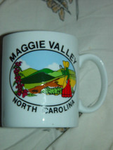 Maggie Valley North Carolina White Coffee Cup - $15.00