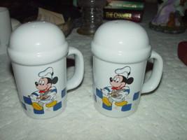 Disney Goutmet Mickey Salt And Pepper Shaker Set - $27.00