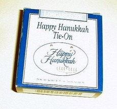 Longaberger Tie On Happy Hanukkah New In Original Box Pottery Genuine No... - $8.86