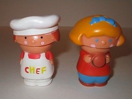 Ideal Corp 1978 Lil Yakkers Drive In Burger Stand Characters RARE - $9.89