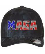 Donald Trump Hat - MAGA USA Version 6277 Kryptek Flex Fit Hat S/M or L/XL - $22.99