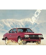 1979 Lancia BETA COUPE sales brochure sheet US 79 Fiat  - $8.00