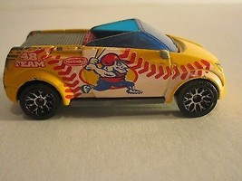 Matchbox 2002 Opel Frogster Yellow Baseball Car - $4.99