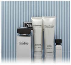 Perry Ellis Platinum Label Men 4 Piece Gift Se - $69.99