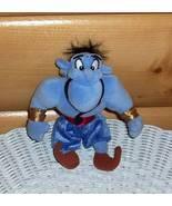 """Aladdin Blue Genie 7"""" Plush Make A Wish Take-Me-Along - $6.89"""