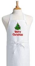Merry Christmas Holiday Cooking Apron, Holiday ... - $9.85