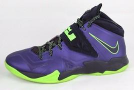 big sale 908e6 2ae1f Nike Uomo Zoom Lebron James Soldato 7 VII Viola Verde Nero Numero 11.5 M -   39.07
