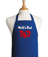CoolAprons World's Best Dad Barbecue Aprons For... - $14.80