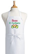 Bese El Cocinero Spanish Kiss The Cook Apron, H... - $9.85