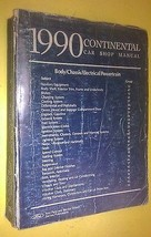 GENUINE LINCOLN CONTINENAL 1990 CAR SHOP manual 05 - $149.00