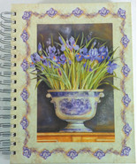 Art In Motion Journal Memory Book Spiral Bound Hard Back Kathryn White D... - $14.84