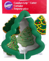 """Wilton Comfort Grip Christmas Tree Cookie Cutter Holiday Treats 5"""" x 4.5... - $9.08 CAD"""