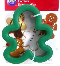 "Wilton Comfort Grip Gingerbread Man Cookie Cutter Holiday Treats  4.5"" x... - $9.08 CAD"