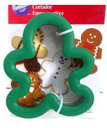 "Wilton Comfort Grip Gingerbread Man Cookie Cutter Holiday Treats  4.5"" x... - $6.92"
