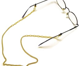 Gold Eyeglass Eyewear Chain with Connectors for Eyeglasses - $15.00