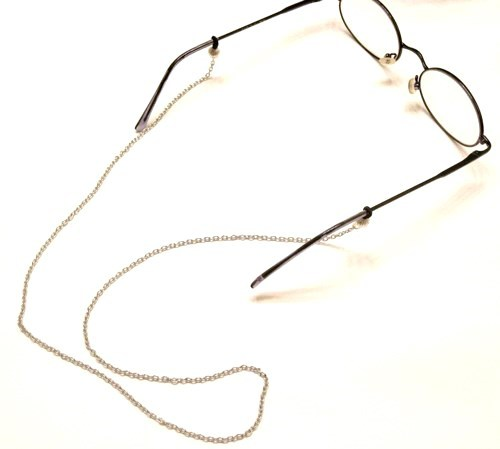 Primary image for Silver Metal Eyeglass Eyewear Chain for Eyeglasses