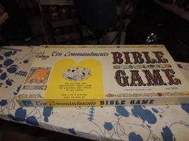 Vintage 1966 Ten Commandments Bible Game - Cadaco # 263 - $28.01