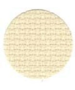 China White/Platinum 11ct Aida 36x51 (1yd) cross stitch fabric Wichelt - $37.80