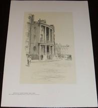 Fine Original 1922 Print of House # 7 State Street , New York by O.R. Eg... - $13.24