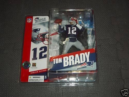 Primary image for McFarlane NFL Series 11 Figure: Tom Brady New England Patriots Navy Jersey Si...
