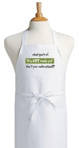 Funny Kitchen Apron - A Great Gift For Any Cook! Cute Cooking Aprons - $9.85