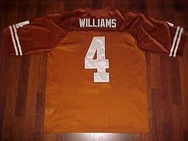 Nike 2003 UPRISING NCAA Texas Longhorns Roy Williams #4 Burnt Orange Jer... - $69.28