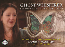 Ghost Whisperer Seasons 3 and 4 G3&4-C13 Delia's Top Costume Card - $12.00