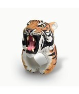 "CLiNG silicon Anaimal Ring ""TIGER"" Fashion Ring from PVC Japan NEW F/S - $32.94"