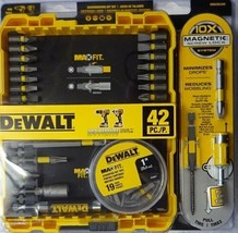 Dewalt DWA2SLS42 Maxfit Screwdriving Set of 42 Piece - $14.85