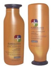 PUREOLOGY Curl Complete Shampoo & Conditioner 8.5 oz/ 250mL  *Same Day S... - $44.55