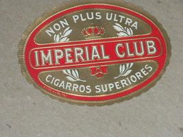 unused Vintage Imperial Club Cigarros Superiore... - $3.99