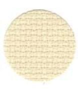 China White/Platinum 11ct Aida 36x25 (1/2 yd) cross stitch fabric Wichelt - $18.90