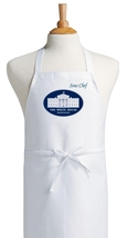White House Sous Chef Funny Novelty Kitchen Aprons, Cute Cooking Aprons - $9.85
