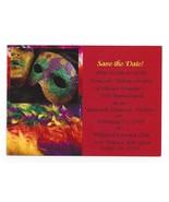Invitation Postcard 3rd Annual Gala Unmask Domestic Violence Chester Cou... - $4.99