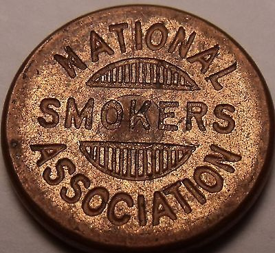 Primary image for National Smokers Association Membership #1754 Medal~Free Shipping