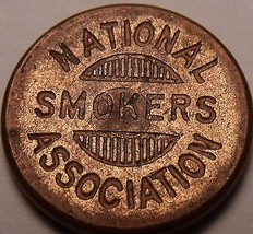 National Smokers Association Membership #1754 Medal~Free Shipping - $11.97