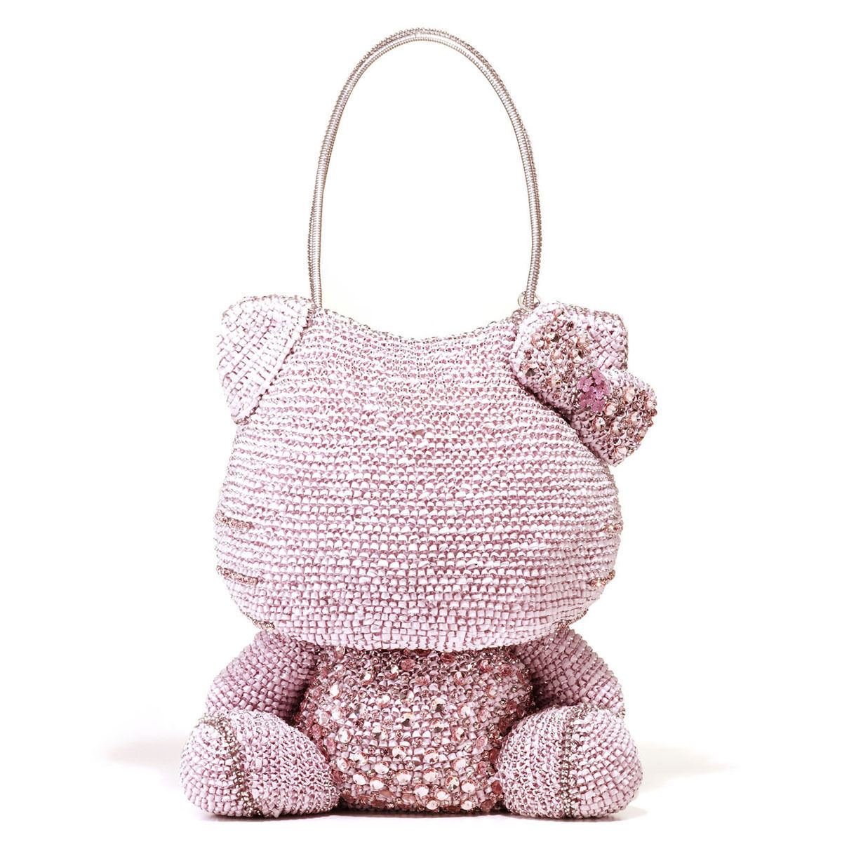 70ac29b0b Hello Kitty x ANTEPRIMA Shoulder Bag Silver pink Wire bag from JAPAN NEW  F/S - $3,739.23