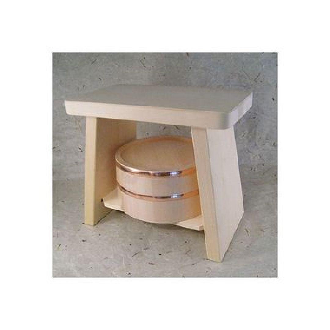 Real Hiba-Hinoki Bath Sets from Japan Tub Chair OKE ISU Japanese cypress NEW - $183.15