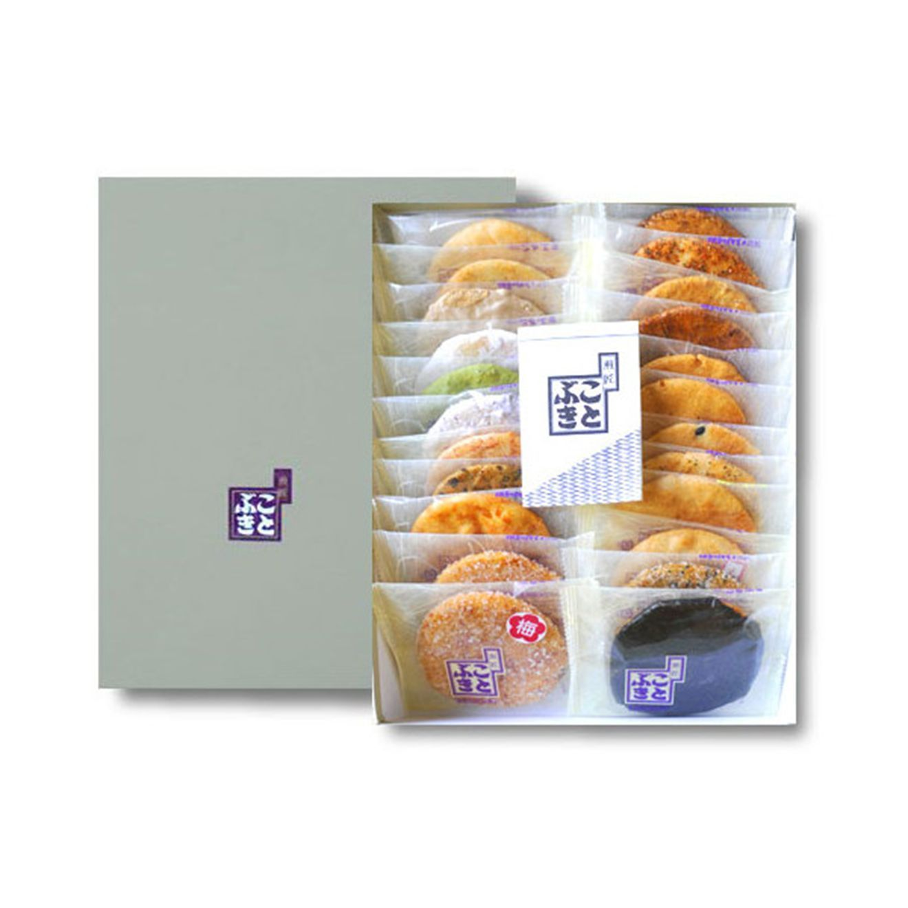 """OSENBEI ""Japanese Crackers Set of Japan 20 kinds  x 22 pieces Free Shipping"