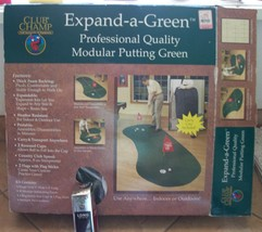 expand a green indoor golf excellent conition comes with 3 new wilson golf balls - $27.77
