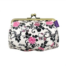 Kitty Gamaguchi Japanese style Pouch,Kosumepochi Bag from Japan NEW - $59.00