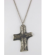 Guy gilles vidal modernist cross necklace 1 thumbtall