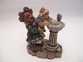 Boyds Bears Sissie and Squirt....Big Helper Lil' Sipper 1999 Bearstones Retired - $24.70