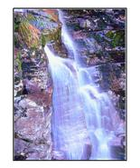 Waterfall on Rocks with Moss-Digital Download-C... - $4.00