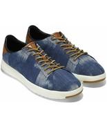Mens Cole Haan Grandpro Tennis Sneaker - Indigo Denim/Tan, Size 11.5 [C2... - $89.99