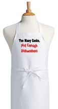 Too Many Cooks, Not Enough Dishwashers Chef Apr... - $9.85
