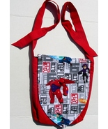 Disney Big Hero 6 Design Custom Adjustable Strap Messenger Bag Brand New - $29.95